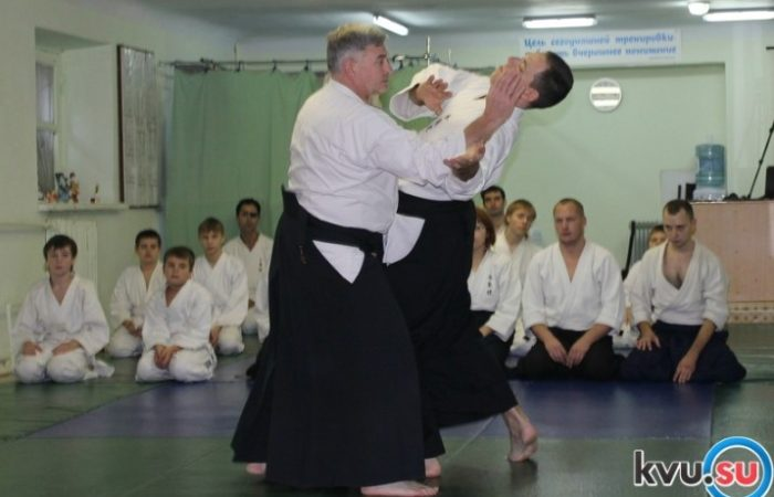 Шахты посетил один из главных мастеров айкидо в России