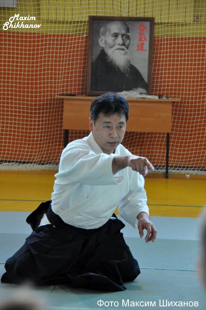 Международный семинар по Айкидо Айкикай под руководством Сэнсэя Номура Наоми