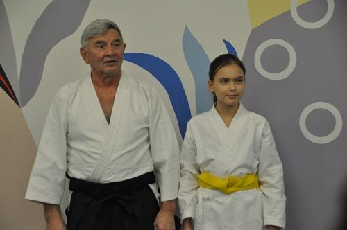 Авербах Михаил Михайлович проводит тренировку и принимает экзамены.